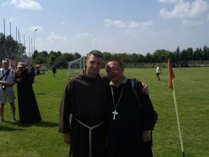 br. Fabian i bp. Grzegorz Ryś